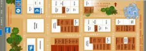 Plano de la Feria del Corpus de Granada