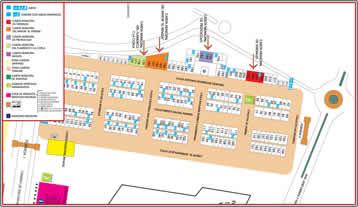 Plano Recinto Ferial de Malaga